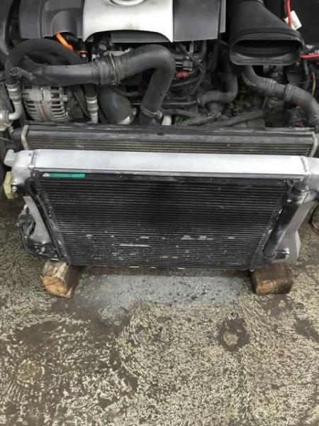 VW Passat B7 2.0TFSI KW-Performance Hochleistungs Ladeluftkühler