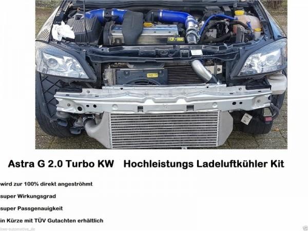 Opel Zafira B 2.0T Performance Tuning Ladeluftkühler von KW Performance