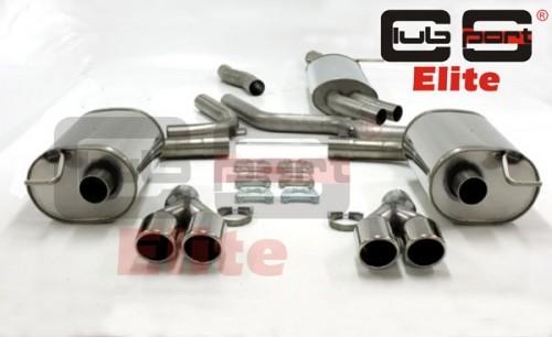 Audi A6 4F 2.0TFSi Abgasanlage Clubsport Elite