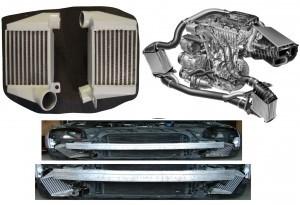 Audi S3 8L 210PS / TT 8N 225PS BIG OEM Upgrade Ladeluftkühler SMIC Set