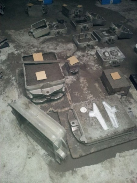 Aluminuim Handform Sandguss Angebot Made in Germany