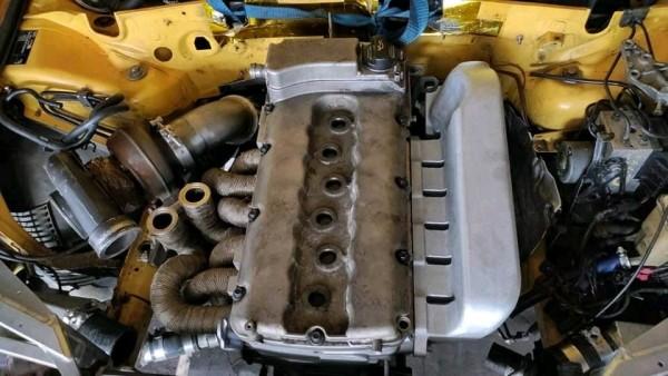 Audi Rs4 B5 R33T 1500hp intake Manifold Tuning Ansagbrücke