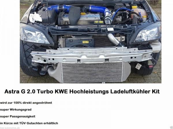 Opel Astra G 2.0T KW Performance Tuning Ladeluftkühler