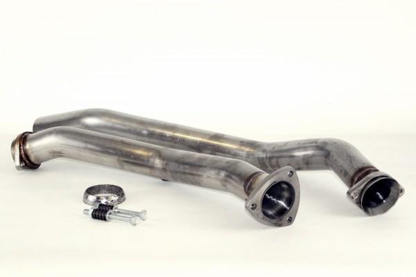 Audi A4 B6 1.8T 2WD Performance Hosenrohre Edelstahl Titanium